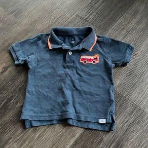 4/$20 Gap Collared Short Sleeve Shirt 18-24 mth